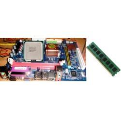 G41 MotherBoard+Dual core 3.0 GHZ +4GB DDR3 Ram Free intel fan