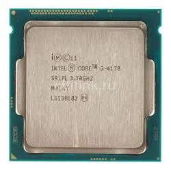 Intel 4th Generation Core i3-4170 LGA1150,(3M Cache, 3.70 GHz)