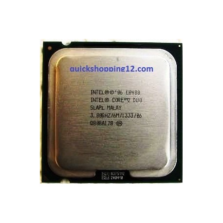 Intel Core 2 Duo Processor E8400 (6M Cache, 3.00 GHz, 1333 MHz FSB) Socket 775