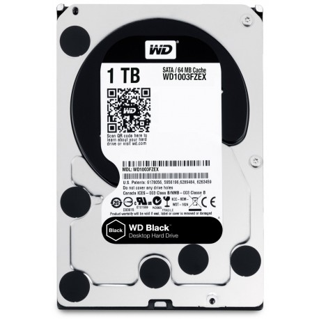 1 TB WD BLACK CAVIAR Desktop Internal Harddisk Hard drive