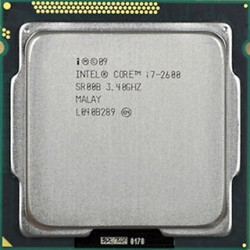 Intel Core i7-2600, Desktop Processor 3.4GHZ, 2nd Generation, 1155 Socket
