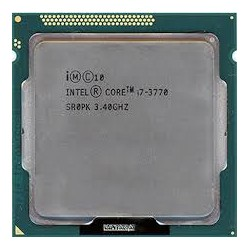 Intel Core I7 3770 Quad Core Desktop Processor Cpu 3.4 Ghz Lga1155 (3rd Gen)