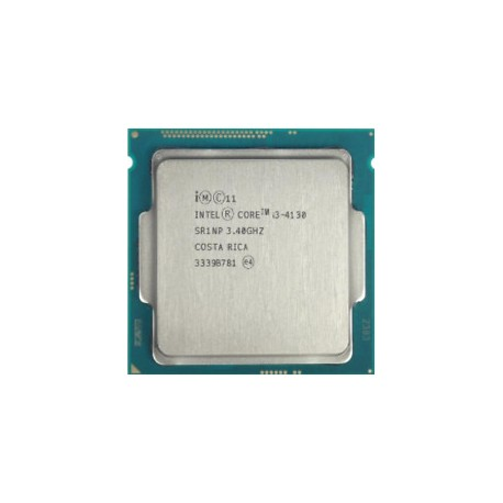 Cpu intel i3 LGA 1150 core i3 4130 3.4 ghz, 4th Gen processor