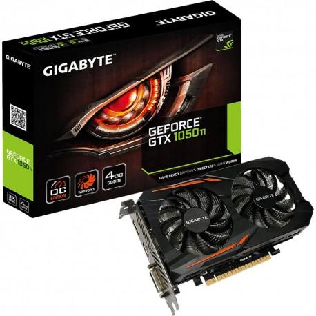 Gigabyte GeForce GTX 1050 Ti OC 4GB DDR5 Graphics Card