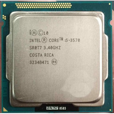 Intel Core i5 3570 Processor , 3rd Generation i5 processor 1155 Socket