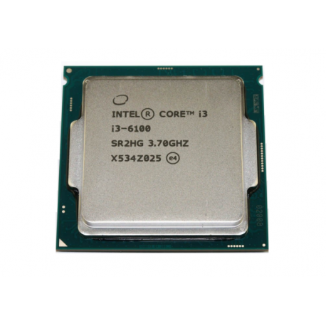 Intel Core i3-6100 Processor (3M Cache, 3.70 GHz), 6th Generation