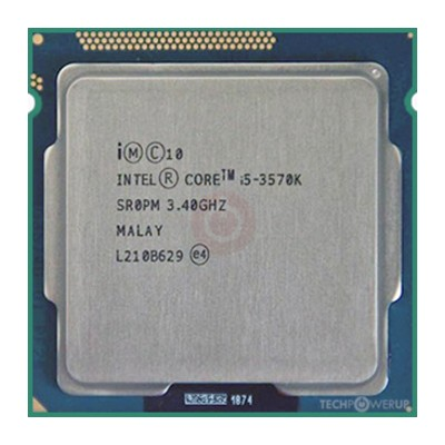 Intel i5 3570K LGA 1155 Socket Processor 3rd Generation processor