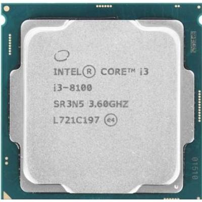i3 8th Gen Desktop Processo Used/oem/ pulled out i3-8100 Processor