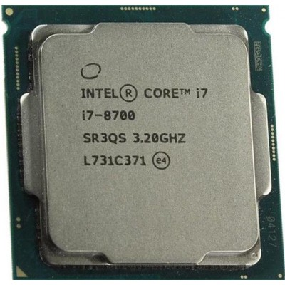 Intel Core i7-8700 Used/oem/ pulled out  12M Cache, 6 Core 8th Gen Processor