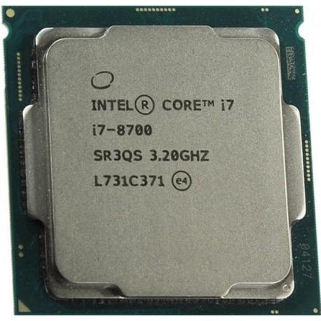 Intel Core i7-8700 Processor 12M Cache, up to 4.60 GHz, 6 Core 8th Gen Processor