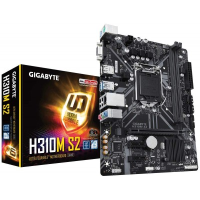 Gigabyte H310M S2 Motherboard Support 8th and 9th Generation LGA 1151 Socket