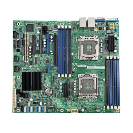 Intel Server MotherBoard S2400SC2 , LGA1356 Socket