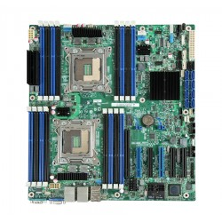 Intel Server Board S2600CP2, LGA2011 Socket MotherBoard,512GB DDR3 Ram supported