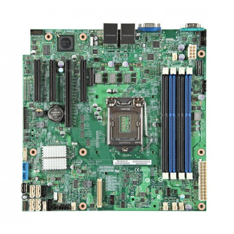 Intel Server Board S1200V3RPS, LGA 1150 socket motherboard, ddr3 ram 32GB supported