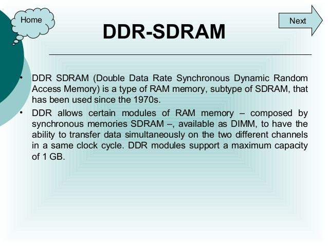 TROUBLESHOOTING GUIDE FOR DDR AND DRAM
